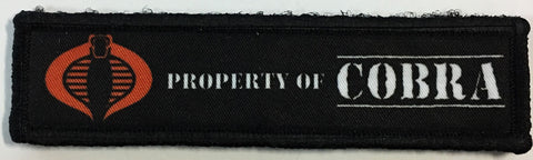 GI Joe Property of Cobra Patch