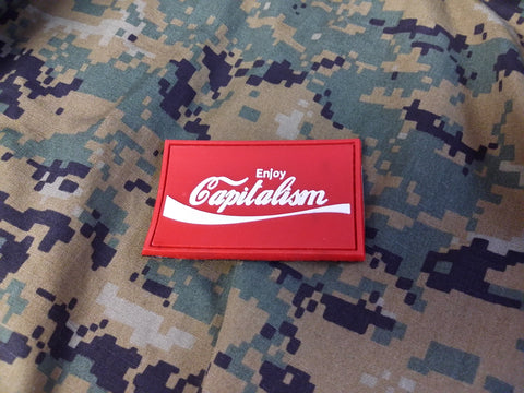 Enjoy Capitalism PVC Patch
