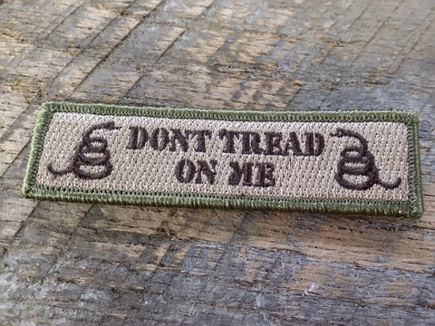 Don't Tread on Me 1x4 Patch