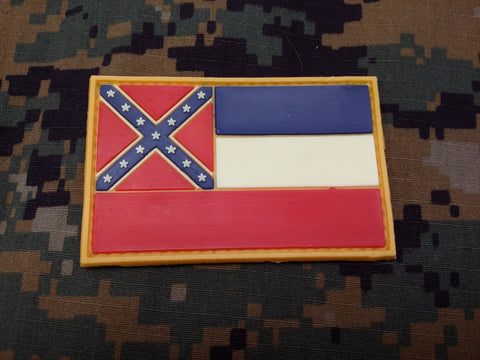 Mississippi Flag PVC Patch