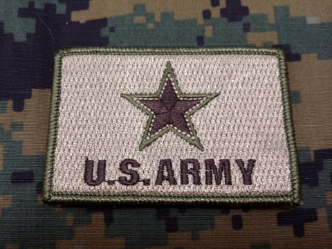 US Army FDE Hook and Loop Patch