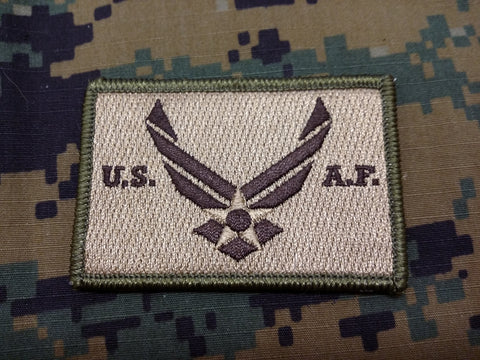 US Air Force FDE Hook and Loop Patch