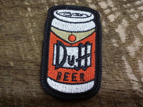 Duff Beer Can Patch