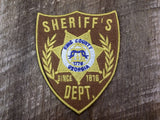 Walking Dead King County Sheriff's Badge Patch