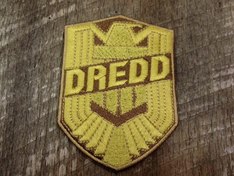 Judge Dredd Badge Patch