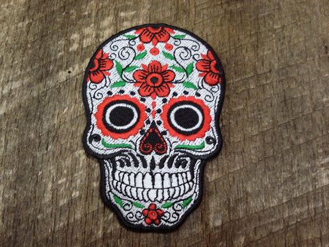 Large Calavera Patch