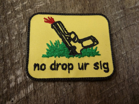 No Drop Ur Sig Patch