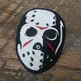 Jason Voorhess Mask Patch