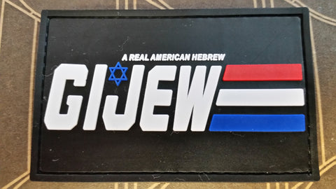 GI Jew PVC Patch