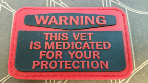 Medicated Vet PVC Patch