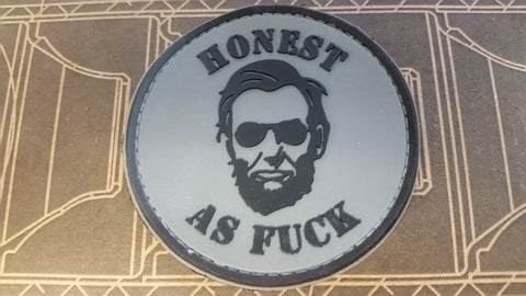 Honest as Fuck PVC Patch