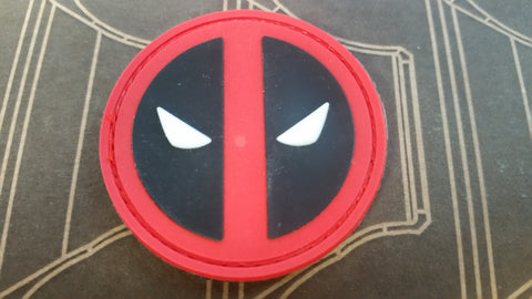 Deadpool Insignia PVC Patch