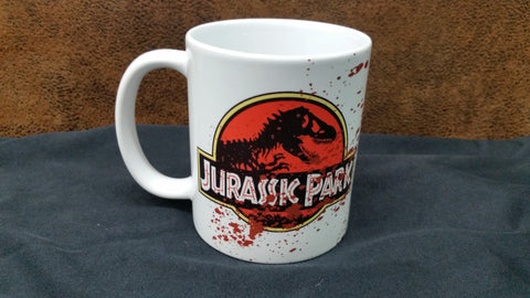 Bloody Jurassic Park Coffee Mug