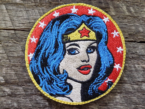 Classic Wonder Woman Circle Patch