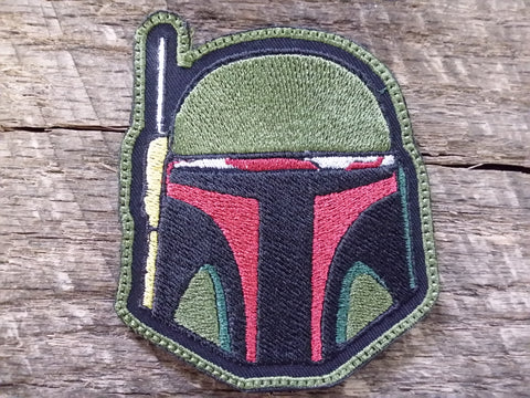 Boba Fett Helmet Patch