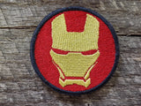 Iron Man Helmet Patch