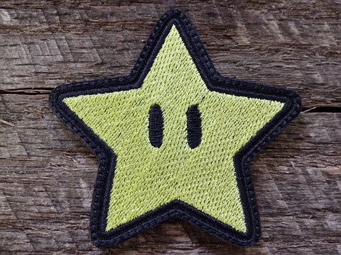 Mario Star Patch