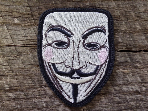 Guy Fawkes Mask Patch