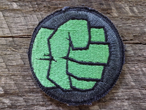 Marvel Incredible Hulk Fist Patch