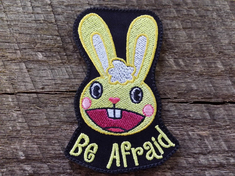 Be Afraid Happy Tree Friends Patch
