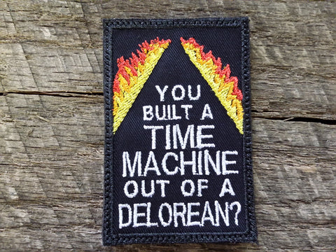 Delorean Time Machine Patch