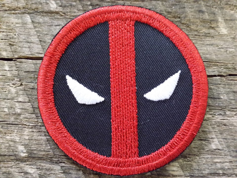 Deadpool Emblem Circle Patch