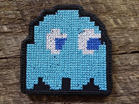 Pac-Man Ghost Inky Patch