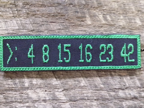 Lost Numbers Patch