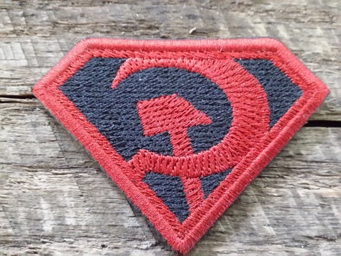 Superman Red Son Patch