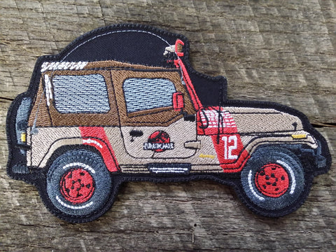Jurassic Park Soft Top Jeep Patch