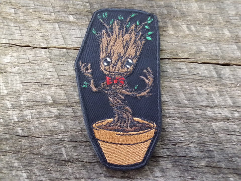 Marvel Dancing Baby Groot Patch