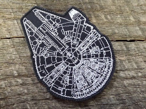 Millenium Falcon Schematic Patch