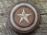Captain America Shield Circle Patch