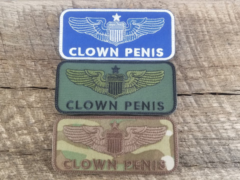 Clown Penis Pilot Patch
