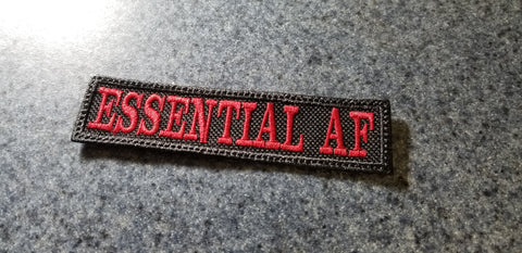 "Essential AF 1x4"" Hook and Loop Patch"