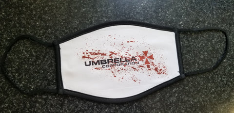 Bloody Umbrella Corp CLOTH Face Mask