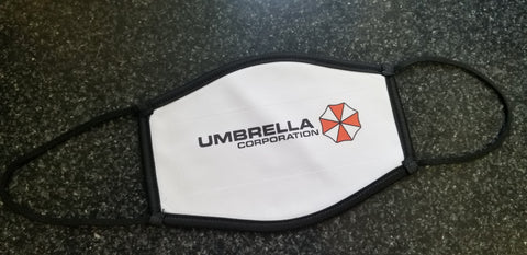 Umbrella Corp CLOTH Face Mask
