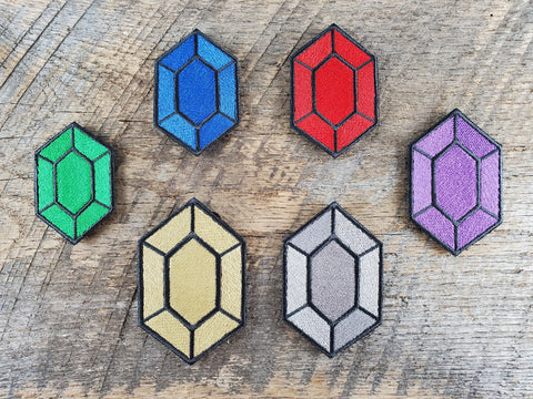 Legend of Zelda-inspired Set of 6 Rupees