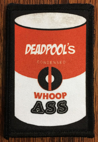 Deadpool Can of Whoop Ass Patch