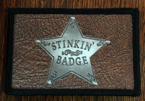 Stinkin' Badge Hook and Loop Patch