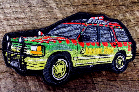 Jurassic Park Explorer Patch