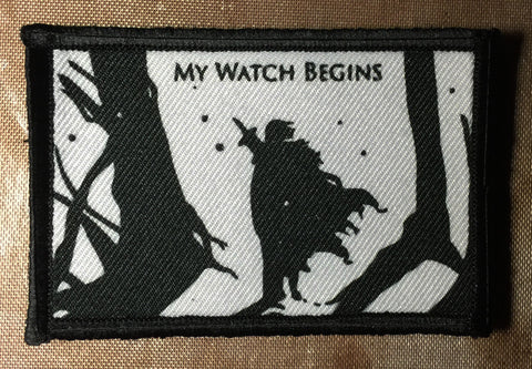 My Watch Begins Patch