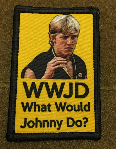 What would Johnny Do? Hook and Loop Patch