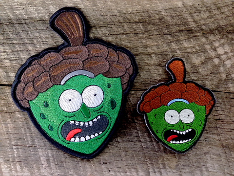 Limited Production Pickle Rick Acorn Patch