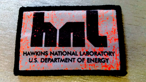 Hawkins National Laboratory Patch