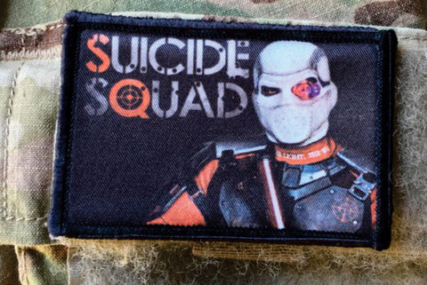 Suicide Squad Deadshot Hook and Loop Patch