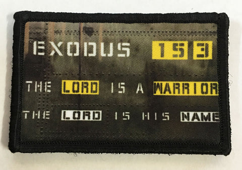 Exodus 15:3 Patch