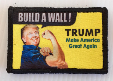 Riveter Rosie Trump Patch