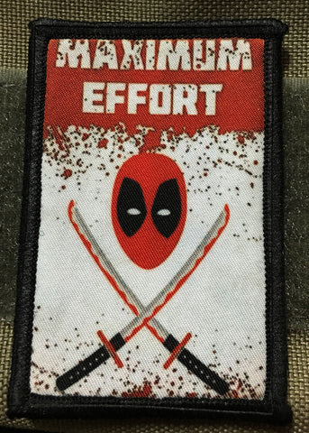 Deadpool Maximum Effort Patch