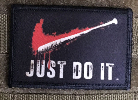 Walking Dead Lucille Just Do It Hook and Loop Patch